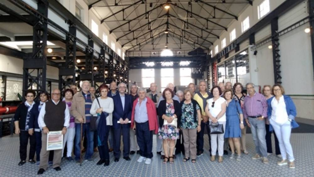 Aniversário da arep , precedido de uma visita ao MAATe Central Tejo