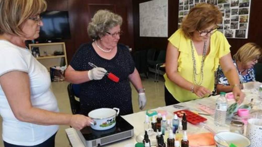 Workshop em Sabonetes Artesanais